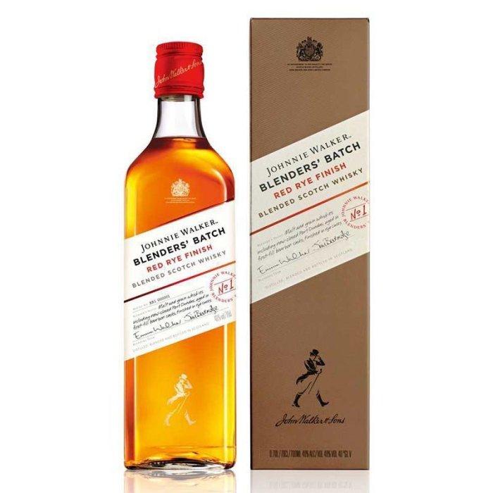 Johnnie Walker Blenders' Batch Red Rye Finish blended scotch whisky