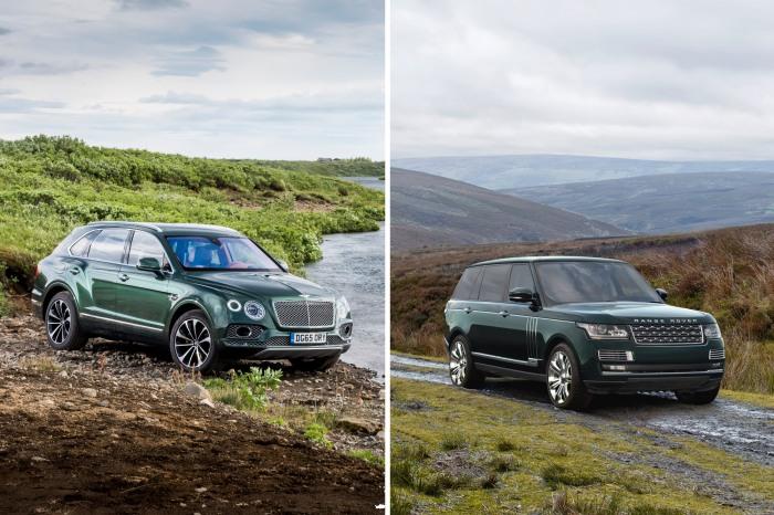 Bentley Bentayga Fly Fishing Mulliner - Range Rover Autobiography Black LWB